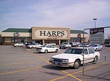 Harps Food Stores - Wikipedia Fort Smith, Ace Hardware, Town And Country, Harp, Store Fronts, 2 In, Missouri, Kansas City, Management