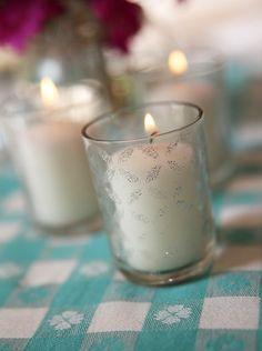 Easy glitter stencil votive DIY how-to Craft Gifts, Diy Gifts, Handmade Gifts, Firecracker Cookies, Cool Mom Picks, Pinterest Crafts, Diy Artwork, Cute Crafts, Reception Ideas