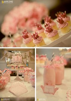 soft pink princess birthday party ideas-04