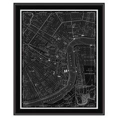 New Orleans Framed Giclee Print
