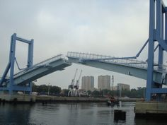 Matosinhos a nova (renovada) Ponte Movel do Porto de Leixoes