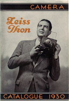Zeiss Ikon Camera Catalog (1930) by sunivroc, via Flickr