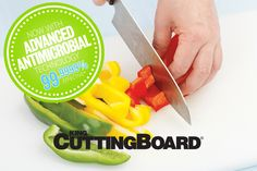 Now Available! New and Improved King CuttingBoard® Family of Products now manufactured with an advanced antimicrobial technology.