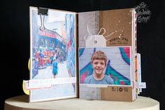 Inspiration Création Blog: Mini album avec le kit de juin {By Gwen}