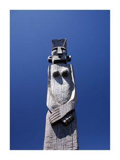 Mapuche totem (Photo credit: Sergio Orellana)