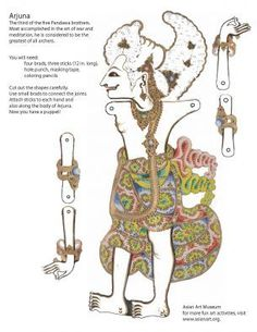 Create Balinese Shadow Puppets (activity) | Asian Art Museum | Education