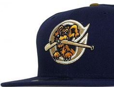NEW ERA x MiLB 「Charleston River Dogs」59Fifty Fitted Baseball Cap