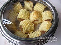 Pineapple Tart Roll Recipe (My Little Space)