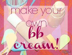 Liquid Mineral Make Up-DIY BB Cream - Jenni Raincloud