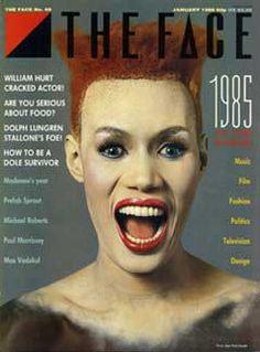 Neville Brody - The Face (1985) Survivor Music, Prefab Sprout, Jean Paul Goude, Neville Brody, The Face Magazine, William Hurt, Black Pin Up, Michael Roberts, Dorothy Dandridge