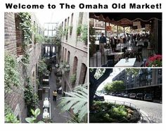 There's so much to do in Omaha's Old Market! http://www.omahaoldmarket.com