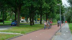 Bi-directional cycleway Assen