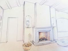 Dessin de cheminée http://www.atryhome.com/article,24,art,atryhome-cheminees-poeles-et-inserts-06.htm
