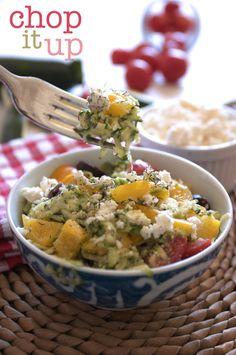zucchini salad #zucchini