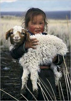 Mongolian girl, Altai Mountains Gavriel JECAN