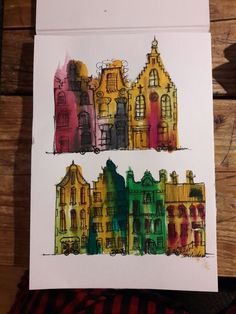 """Serie of houses """"Amsterdam"""""""