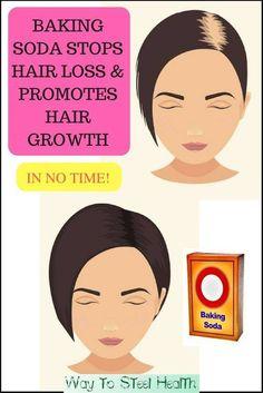 Using Baking Soda To Stops Hair Loss