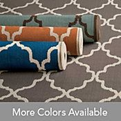 Tangiers Outdoor Rug great look and great price I would use them indoors.