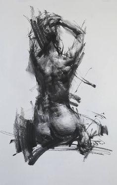 "Saatchi Art Artist Zin Lim; Drawing, ""Allegro no.87 (Spiccato)"" #art"