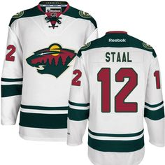Reebok Minnesota Wild  12 Women s Eric Staal Authentic White Away NHL  Jersey Eric Staal 59d654f1e