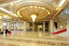 Casa Poporului-Interior-Bucharest.RO. Romania, Communism, Urban, Bucharest, House Styles, Home, Places, Ad Home, Homes