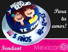 Pastel de novios, para tu aniversario personalizamos el cabello y la ropa, especialmente para ti!