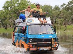 <span>Karol och Wojciech Lewandowski i Australien.<br></span>