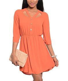 I really like the color and the cutout design up top...I would wear it with leggings, though.  Really cute, and awesome price!
