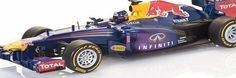 Maisto Radio Control Red Bull RB9 Sebastian Vettel 2013 F1 Racing Car 1:18 Scale Officially Licensed Model Requires 3 x AA and 2 x AAA batteries. (Barcode EAN = 3329684212873). http://www.comparestoreprices.co.uk/formula-1-cars/maisto-radio-control-red-bull-rb9-sebastian-vettel-2013-f1-racing-car-118-scale-officially-licensed-model.asp