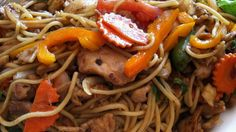 Spicy Thai Noodles with Tahini