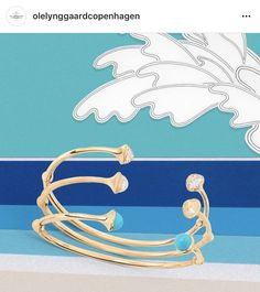 Ole Lynggaard Copenhagen Nature Bracelet (Turquoise)