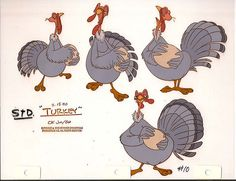 """https://flic.kr/p/5enyfV   TURKEY STD.   Wanted to share this set of models from Rover Dangerfield. This toon was one of the last ones done in America. The last one I painted was Cool World. Most of the animation I painted was for independent studios with my company """"KARTOON Ink & Paint"""". This set would have been thrown away after the movie was done. This is valuable to artists for color and shading. This also shows the work that went into this just for the models. These ..."""