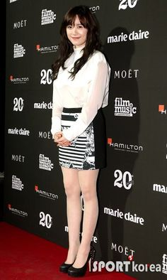 20 February 2013. Koo Hye Sun at Marie Claire Film and Music Festival. Photo credit as tagged.