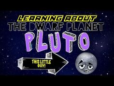 DeMaio on this fun, informative lesson for kids about the dwarf planet, PLUTO! Find out some interesting facts about this guy as we get to really kn. Pluto Facts For Kids, Fun Facts For Kids, Science For Kids, Science Videos, Science Lessons, Lessons For Kids, Planets Activities, Space Activities, Pluto Planet