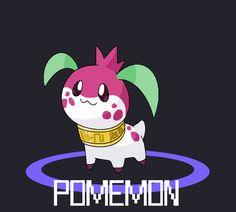 Pomemon by Cerulebell on deviantART