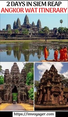 Click to read 2 day itinerary for visiting the Siem Reap Temples - An Itinerary for Angkor Wat & Other Temples. 2 days in Siem Reap | Siem Reap temples | places to visit in Siem Reap, Cambodia | Siem Reap itinerary 2 days | Siem Reap attractions | Siem Reap tours | Siem Reap day tour package | Siem Reap Cambodia | Things to do in Siem Reap | Siem Reap itinerary | #travel #Cambodia #SiemReap #AngkorWat #heritage #travelitinerary
