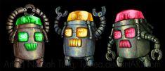 Stoplight Robots by *Tyshea on deviantART (Tyshea, 2011)