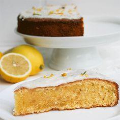 Citronmåne – Dänischer Zitronenkuchen | Küchenmomente