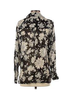 NWT Fifteen Twenty Women Black Long Sleeve Blouse XS   eBay