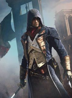 Get off on this stylish and fashionable cloak from the Assassin's Creed Unity. Avail it now from our Get off on this stylish and fashionable cloak from the Assassin's Creed Unity. Avail it now from our store in discounted price. Assassins Creed 2, Assasin Creed Unity, Arno Dorian, Deutsche Girls, Erza Et Jellal, Assasins Cred, Assassin's Creed Wallpaper, Hd Wallpaper, Connor Kenway