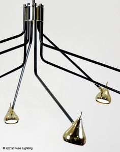 FUSE lighting | Sofia Chandelier By Kevin Kowlanowski.  Must use this on a project!