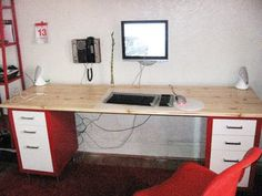 Desk Ikea Hack