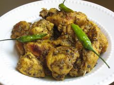 Indian Cuisine - The Vegetarian Recipes from India Lemon Garlic Chicken, Garlic Chicken Recipes, Easy Chicken Curry, Veg Recipes, Curry Recipes, Indian Food Recipes, Vegetarian Recipes, Cooking Recipes, Indian Foods
