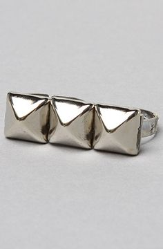 *Accessories Boutique The Triple Stud Ring : Karmaloop.com - Global Concrete Culture