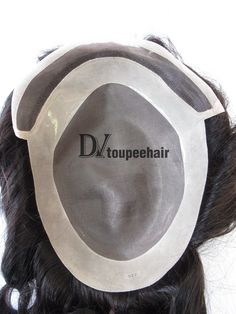 DV-007 Fine Mono Center With Fine Welded Mono Frontal Men's Non-surgical Hair Replacement