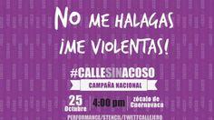 Campaña nacional contra el acoso callejero - YouTube