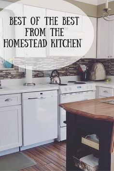 Welcome to The Homestead Kitchen - featuring the best of the best from scrumptious dinners, to gluten free snacks, kid friendly meal plans, to desserts fit for a queen