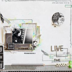 Live in the moment by JINA-B at Studio Calico