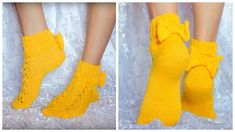 Cute Socks, Leg Warmers, Fingerless Gloves, Slippers, Booty, Legs, Knitting, Crochet, Crafts