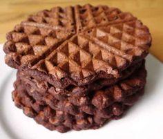 Low-Carb Kakao Waffeln
